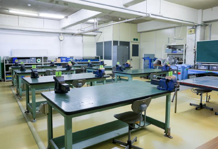 技能訓練室の写真
