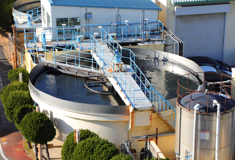 排水処理設備の写真